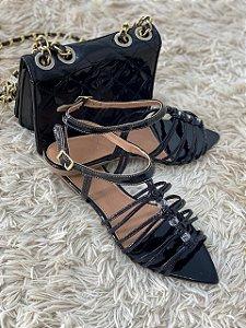 Rasteira D'Shoes Preta