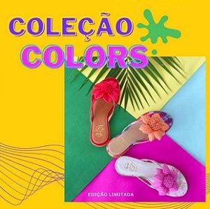 Rasteira Colors D'Shoes - Edição Limitada