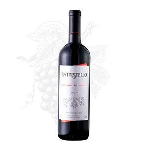 Vinho Tinto Cabernet Sauvignon Battistello Garrafa 750 ml