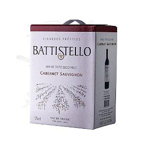 Vinho tinto Cabernet Sauvignon Battistello - bag in box 3 litros