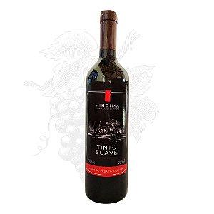 Vinho Tinto Suave VINDIMA - garrafa 750 ml