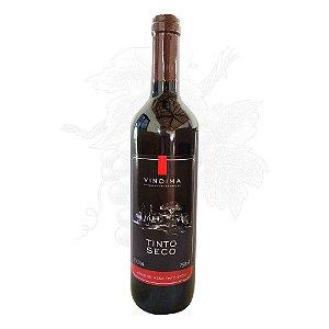 Vinho Tinto Seco VINDIMA - garrafa 750 ml