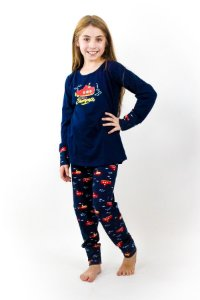 Pijama Menina Inverno Submarino