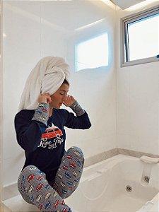Pijama Feminino Inverno Kombi