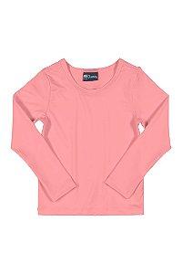 Blusa Feminina Com Proteção Solar Rosa Neon Quimby Ref 28831
