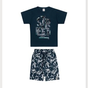 Conjunto Masculino Camiseta+Short Elian Ref 241057