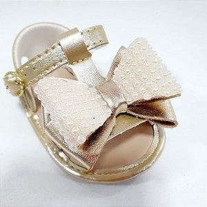 Sandália Pimpolho Dourada