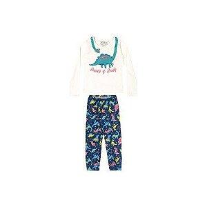 Pijama Manga Longa Fem Elian Ref 13006