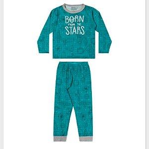 Pijama Masc Manga Longa Ref 12001