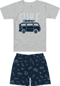 Pijama Masculino Infantil (pai e filho) Malwee Ref 83394