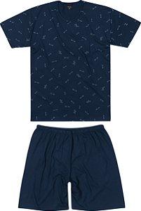 Pijama Masculino Adulto (pai e filho) Malwee Ref 83415