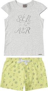 Pijama Feminino Carinhoso Ref 85422
