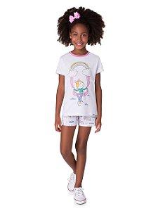 Pijama Feminino Infantil Veggi Ref 0552
