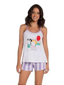 Pijama Feminino Adulto (mãe e filha) Veggi Ref 0838