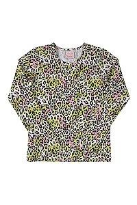 Blusa Proteção Solar Feminina Quimby Ref 28530