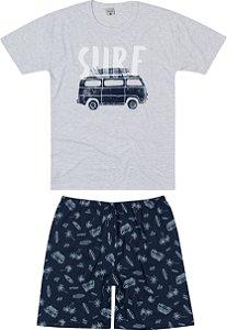 Pijama Masculino Adulto (pai e filho) Malwee Ref 83418
