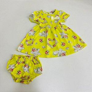 Vestido Feminino+Calcinha Carinhoso Ref 74089