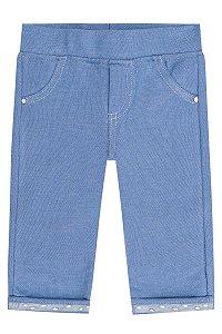 Calça Legging Jeans Infanti Ref 44062