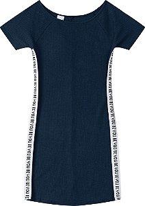 Vestido Feminino Canelado Malwee Ref 80738
