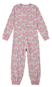 Pijama Feminino Macacão Fino Malwee Ref 77424