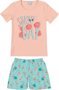 Pijama Feminino Infantil (mãe e filha ) Malwee Ref 83341