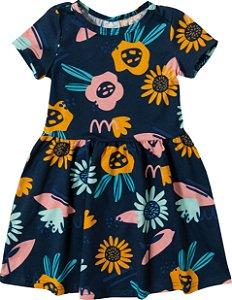 Vestido Malha Feminino Malwee Ref 80614