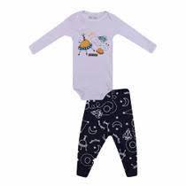 Conjunto Body+Calça Masculino Fino Baby Duck