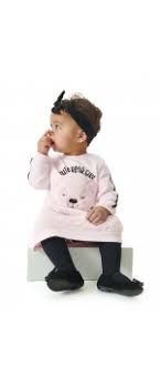 Vestido Molecoton Feminino Manga Longa Up Baby Ref 43059