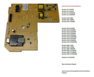 Placa Fonte Alta Brother Dcp-l2540dw / L2540dw