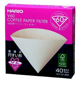 Filtro de Papel Hario V60 Tamanho 02