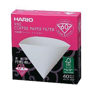 Filtro de Papel Hario V60 Tamanho 01