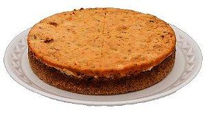 Torta Integral de Frango, Tomate Seco e Ricota