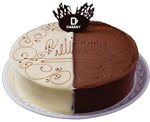 Torta Dois Amores 3Kg + 200 Docinhos