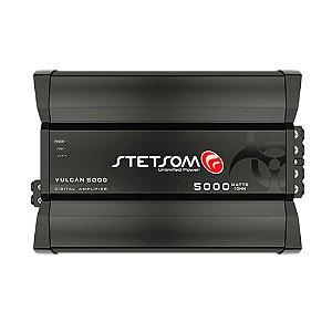 Módulo Amplificador Digital Stetsom Vulcan 5000w Rms 1 Canal 1 Ohm