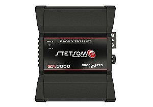 Módulo Amplificador Stetsom Ex3000 Black 1 Canal 1ohm 3000rms