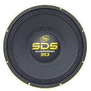 Alto Falante Subwoofer Eros 15 Polegadas SDS 3.3k Evolution 1650W Rms 8 ohms