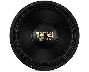 Alto Falante Subwoofer Eros 15 Pol Target bass Cromado 3.0k 1500W Rms 4 ohms