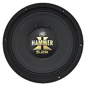 Alto Falante Woofer Eros 12 Polegadas Hammer 5.2k 2600W Rms 4 ohms
