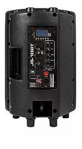 Caixa Ativa Jbl Js10bt Bluetooth Usb Sd Aux 100w Amplificada