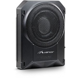 Caixa Automotiva Amplificada Hinor Active Box 8 polegadas Aluminium 250W/RMS