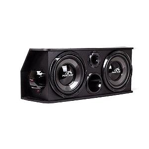 Caixa Automotiva Amplificada Hinor Box Trio TWO 250W