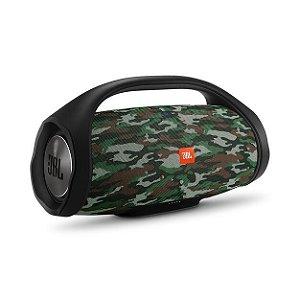 Caixa de Som Bluetooth JBL Boombox 60W A Prova d'água Squad