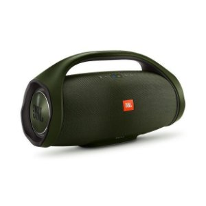 Caixa de Som Bluetooth JBL Boombox 60W A Prova d'água Verde
