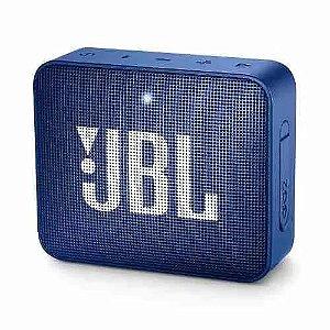 Caixa De Som Bluetooth Jbl Go 2 Azul Portátil