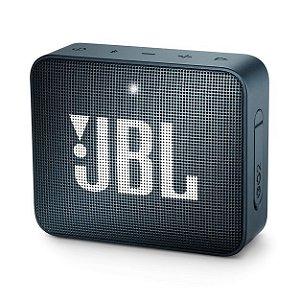 Caixa De Som Bluetooth Jbl Go 2 Navy Portátil