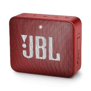 Caixa De Som Bluetooth Jbl Go 2 Red Portátil