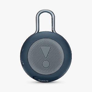 Caixa de Som JBL Clip 3 Bluetooth A Prova D'água Azul