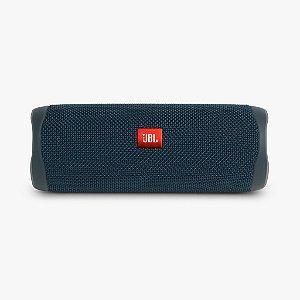Caixa De Som Jbl Flip 5 Bluetooth À Prova D'água Portátil Azul