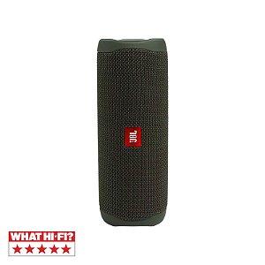 Caixa De Som Jbl Flip 5 Bluetooth À Prova D'água Portátil Verde