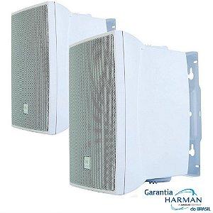 Caixa Som Ambiente JBL C621 100w C621b Par Branco